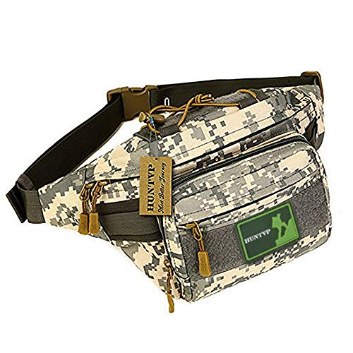 6ce7dbcba193 Huntvp Military Fanny Pack Tactical Waist Bag Pack Water-Resistant ...