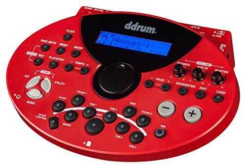 Trigger Module Ddrum (ddrum DD5XM Digital Drum 5x Series Module, Red)