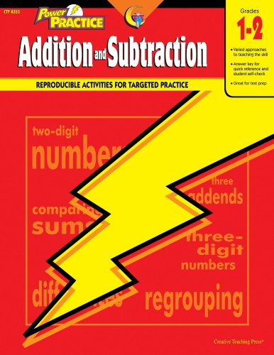 Power Practice Addition and Subtraction (Math Power Practice)