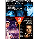 DVD : Miramax Triple Feature Suspense: People I Know / Deception / The Crossing Guard