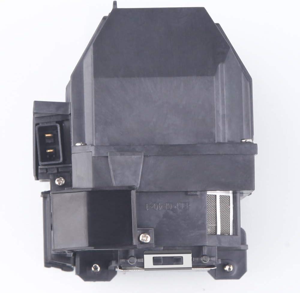 EB-585Wi EB-580 Lanwande ELPLP80 V13H010L80 pour EPSON EB-1420Wi PowerLite 585Wi BrightLink Pro 1420Wi BrightLink 595Wi PowerLite 580 eb-595wI EB-1430Wi BrightLink 585Wi BrightLink EB-585W
