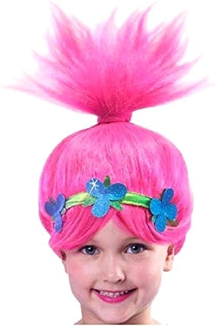 Peluca para Adultos y Ni/ños Pelucas para Carnaval Halloween Fiesta de Disfraces mama stadt Peluca de Cosplay