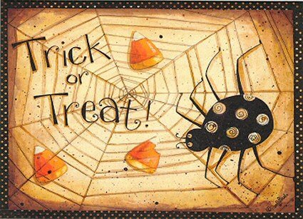 Dan DiPaolo Trick or Treat Web Halloween