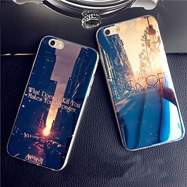 Amanecer Sunset clinodactilia ciudad azul luz reflectante ...