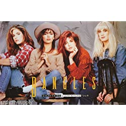 Bangles Poster Everything Everywhere Tour