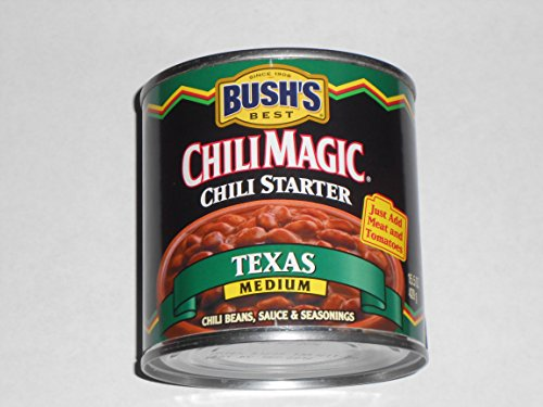 BUSH'S BEST CHILI MAGIC, Chili Starter ''Texas Medium'' (Pack of 6) by Bush's Best
