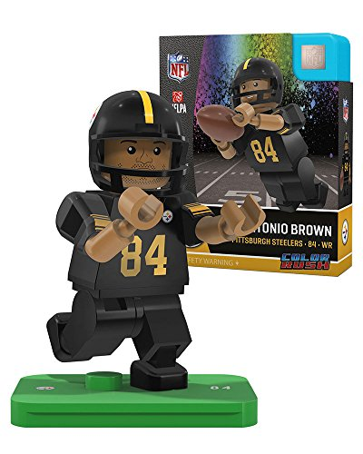 OYO Antonio Brown Pittsburgh Steelers Color Rush Generation 4 G4 (Pittsburgh Steelers Colors)
