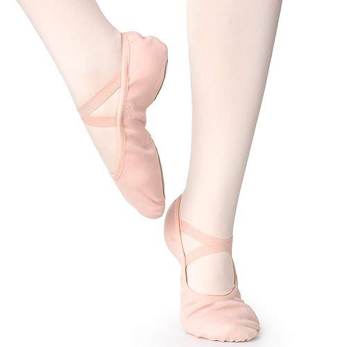 último vendedor caliente seleccione para auténtico sombras de Zapatillas de Danza Elástico Media Punta Zapatos de Ballet ...