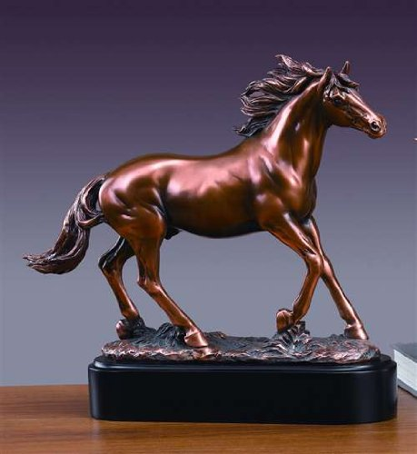 Running Horse Sculpture - (Solid Bronze Horse)