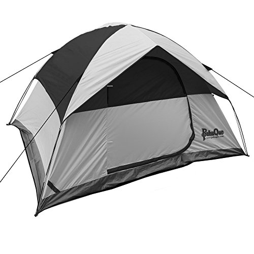 - PahaQue Rendezvous Dome Tent Grey/Blk 4p PQF200