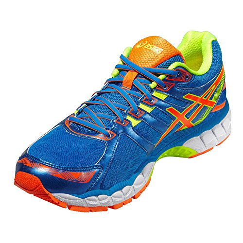 Asics Gel-Evate 3 Zapatillas Para Correr - 46.5 - azul y naranja