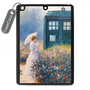 CASECOCO(TM) Favorite TV Series Doctor Who iPad Air Case - Protective Hard Back / Black Rubber Sides Case for iPad Air
