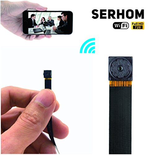 Spy Hidden Camera,Mini P2P Wireless WIFI Video Hidden Spy IP