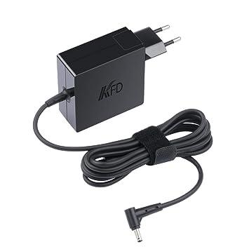 KFD 45W 19V Adaptador de corriente Cargador para Asus VivoBook X200CA F200CA S200E F201E Q200E S220 X540LA X540SA X553M ZenBook UX305LA UX305FA ...