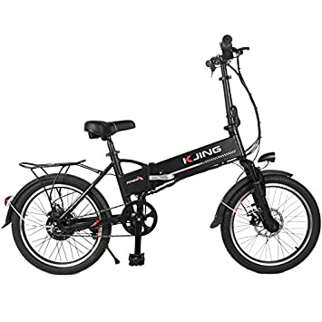 KJING bicicleta electricas plegables