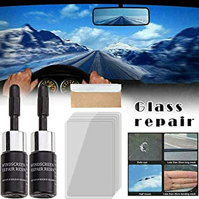 Kit de reparaci/ón Profesional de vidrios para Ventanas de Parabrisas de autom/óviles DIY Kit de reparaci/ón de Parabrisas de autom/óviles
