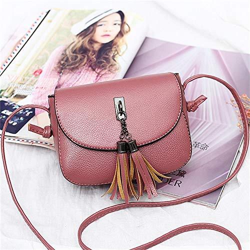- RongWang Vintage Small Crossbody Bags for Women 2017 Black Mini Messenger Tassel Fashion Female Flap Shoulder