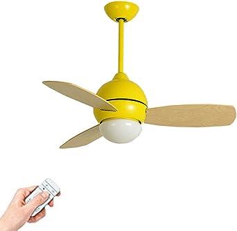 Moderne Bois Ventilateurs De Plafond Avec Lampe Intégrée