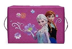 Delta Children Collapsible Fabric Toy Box, Disney Frozen