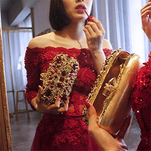 de Sac Purse rabbit Clutch Wedding Femmes soirée Ruby Banquet Diamond de Lovely à pour Sac Main Soirée Luxe Party 7Iq5p7dw