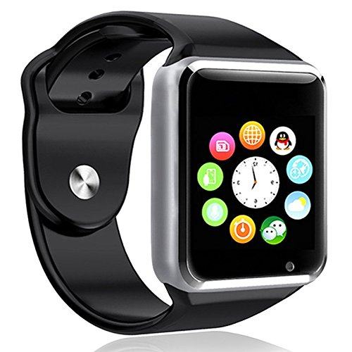 Smart-Watch-E-LV-High-Quality-Touch-Screen-Bluetooth-Smart-Wrist-Watch-with-Camera-For-Apple-iPhone-IOS-Android-Smartphones-SamsungHTCBlackberry-and-more-Microfiber-Cleaning-Cloth