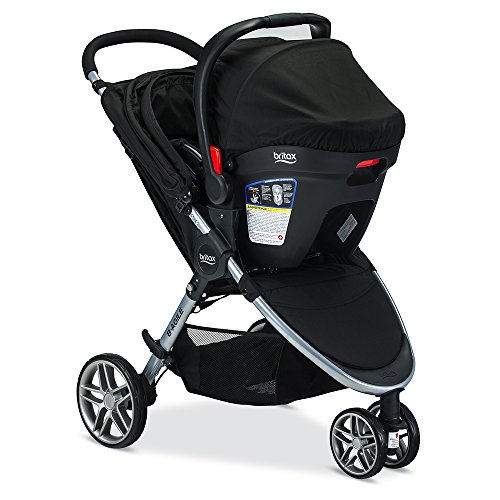 Image of the Britax 2017 B Agile & B Safe 35 Travel System, Black