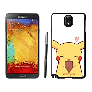 Fashionable Skin Case For Samsung Galaxy Note 3 N900A N900V N900P N900T With Cute Pikachu Samsung Galaxy Note 3 Black Phone Case 098 Samsung Galaxy Note3 Black Phone Case 098