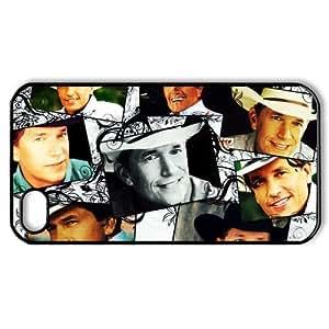 CTSLR Music & Singer Series Hard Plastic Back Case for iphone 4 4S 4G - George Strait -(17.59) - 4