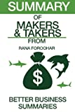 img - for Summary of Makers and Takers: From Rana Foroohar book / textbook / text book