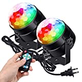 Litake Party Lights Disco Ball Strobe Light Disco Lights, 7 Colors Changing Sound