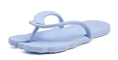 Yooeen Tongs Femme Homme Pliable Flip Flops Tong de Massage Confortable  Portable Eté Pantoufles Chaussons Chaussure 24fbdfa84305