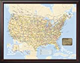 Personalized U.S. Traveler Map