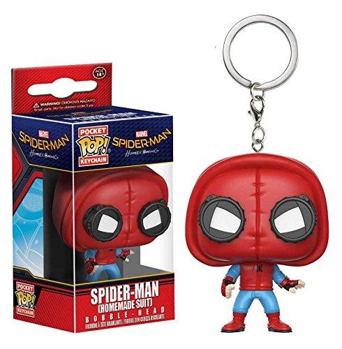 Funko Pop! Spider-Man Homecoming - Keychain Spider-Man (Homemade Suit)