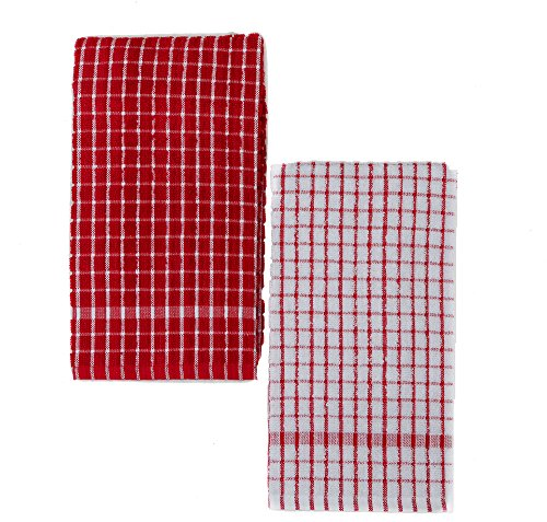 Red And White Kitchen Towels - 7