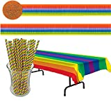 Curated Nirvana Rainbow Party Decoration Bundle