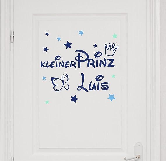 Kindername Türaufkleber Tür Wandtattoo Aufkleber Beschriftung Name Text No.20