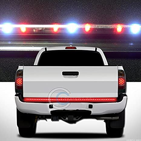 Amazon hs power 49 line of fire led tailgate tail light bar hs power 49quot line of fire led tailgate tail light bar strip turn signal brake aloadofball
