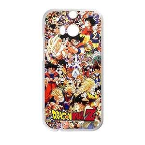 Dragon Ball White HTC M8 case