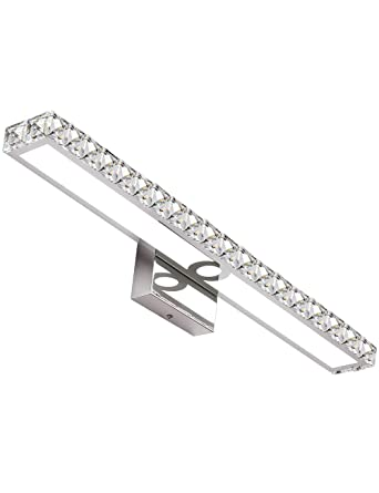 Solfart Led Vanity Lights Over Mirror 25 4 Inch 24w Crystal Wall