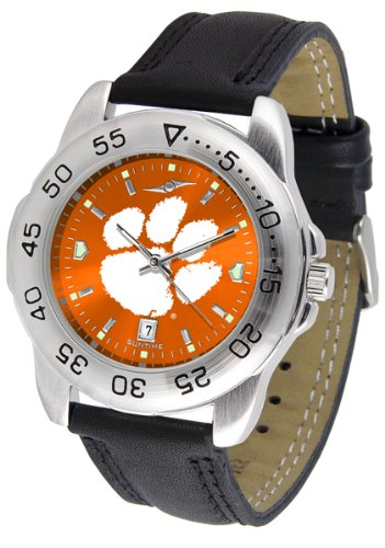 Linkswalker Mens Clemson Tigers Sport Anochrome Watch
