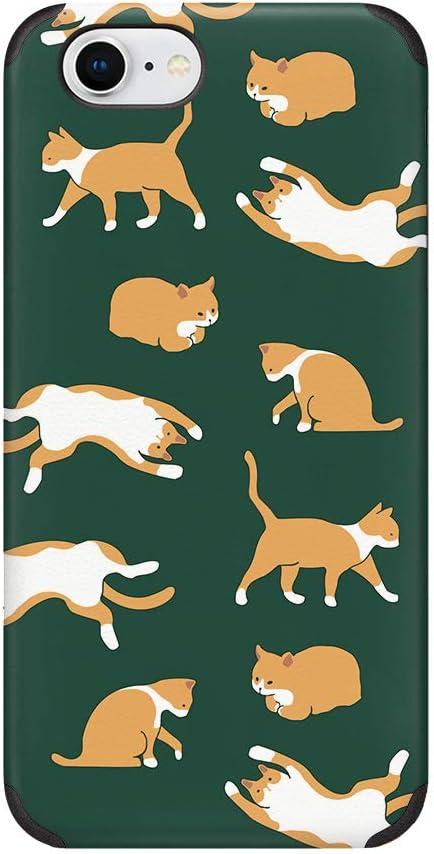 CUSTYPE iPhone 8 Case, iPhone 7 Case,iPhone SE 2020 Cute Cat Kitty Animals Pattern Design Case Soft Slim Shockproof Cover Case for iPhone 7/iPhone 8/iPhone SE 4.7 inch Cat
