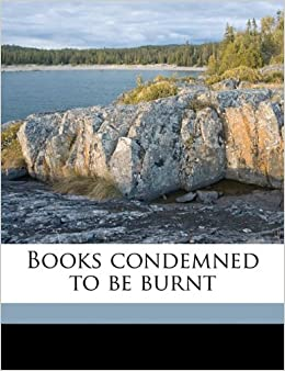 Book Books condemned to be burnt