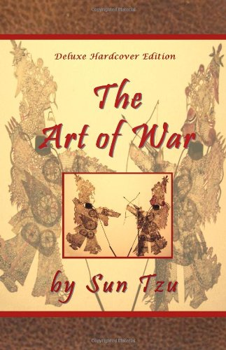 The Art of War by Sun Tzu - Deluxe Hardcover - Indian El Store Paso
