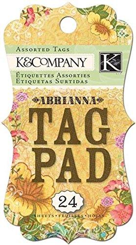Tag Pad & Company K (K&Company Abrianna Tag Pad)