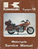 1986 KAWASAKI MOTORCYCLE VOYAGER XII SERVICE MANUAL 99924-1064-01 (940)