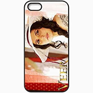 Personalized iPhone 5 5S Cell phone Case/Cover Skin Actress West Ham Football Black