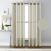 Amazon Com Open Weave Curtains