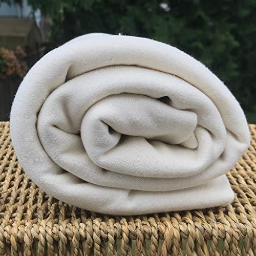 Hemp/Organic Cotton Fleece Fabric, by The Yard