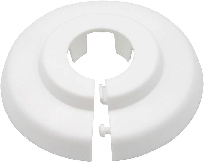 16mm 22mm 35mm; protectoras radiador// rosetas// cubiertas 12mm 20 Piezas de rosetones para tubos de calefacci/ón polipropileno 18mm pl/ástico blanco 28mm 15mm para tubo di/ámetros: 12mm
