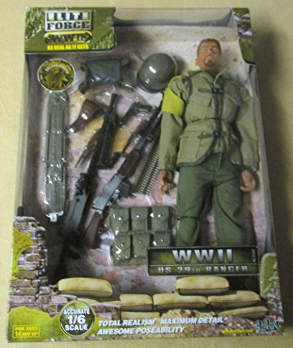 "Elite Force WWII US 29th Ranger 1/6th Scale 12"" Action Figur"